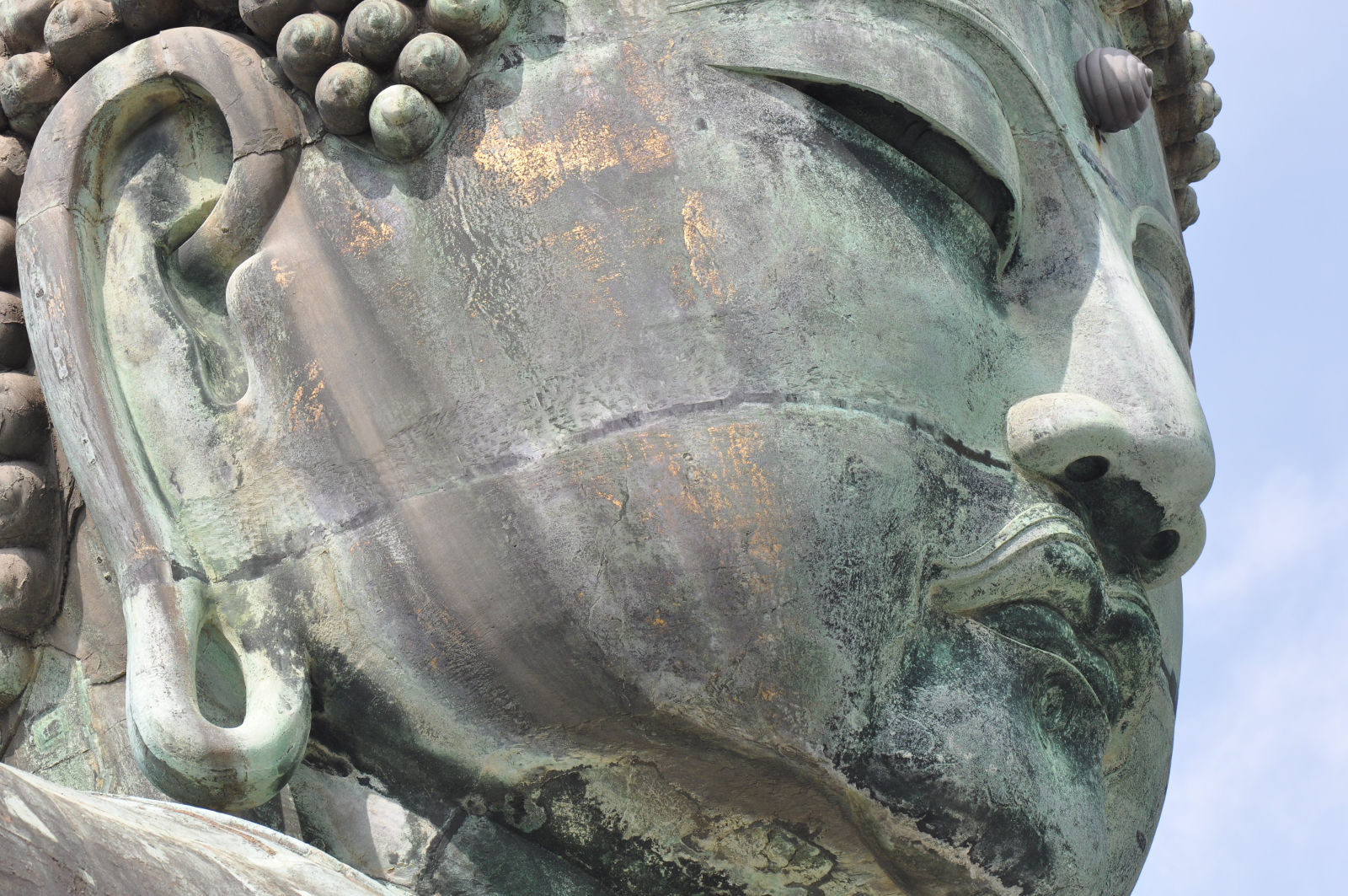 13th C Buddha, Kamakura - July 2009