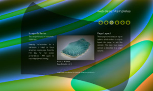 Web design template 2